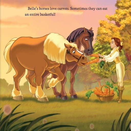 Disney Princess Horse Love Belle