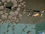 Goofy Gymnastics ceiling smash