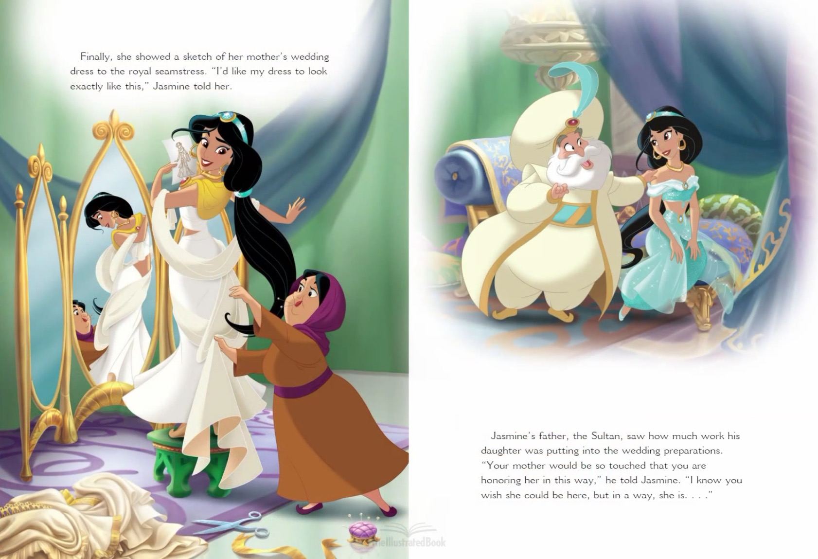 Image - Jasmine\'s Royal Wedding (4).jpg | Disney Wiki | FANDOM ...