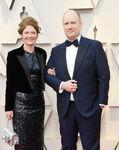 Kevin Feige & wife Caitlin 91st Oscars