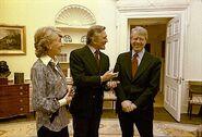 Kirk Douglas Jimmy Carter-1-