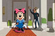 Minnie with Mario Sorrenti in Electric Holiday