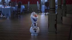 Olaf in Olaf taut auf