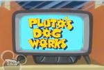 Pluto's Dog Works logo
