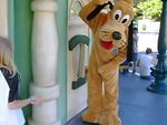 Pluto posing in toontown