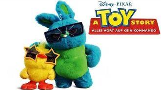 A TOY STORY ALLES HÖRT AUF KEIN KOMMANDO – Kinospot 3-köpfig Disney•Pixar HD