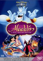 Aladdin 2004 Germany DVD