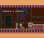 Bonkers (SNES) - Credits - Mickey & Donald