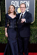 Brad Bird & wife Elizabeth Canney 76th Golden Globes