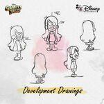 Gravity Falls Concept Art - Mabel