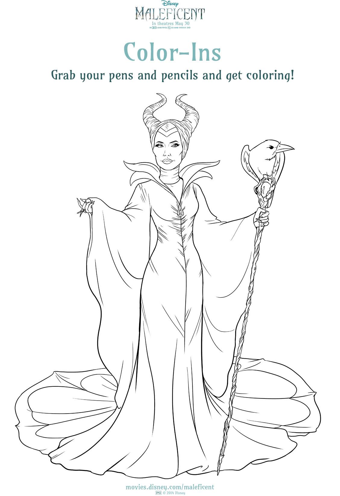 Image - Maleficent Colour ins 1.jpg | Disney Wiki | FANDOM powered ...