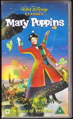 Mary Poppins 1996 UK VHS