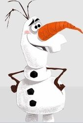 Olaf HD concept art