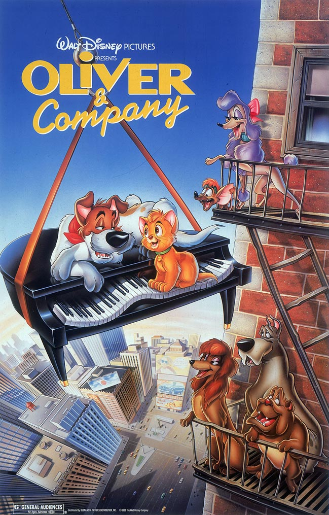 Oliver Company Disney Wiki Fandom