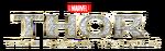Thor The Dark World Transparent Logo