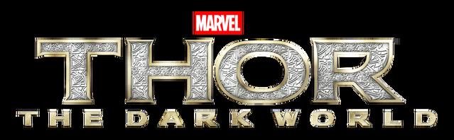 File:Thor The Dark World Transparent Logo.png