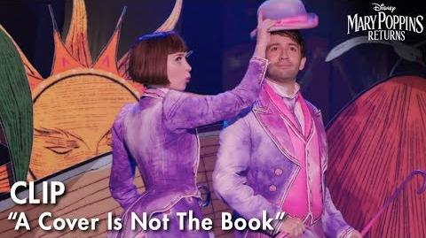 """A Cover Is Not The Book"" Clip Mary Poppins Returns"