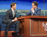Andrew Rannells visits Stephen Colbert