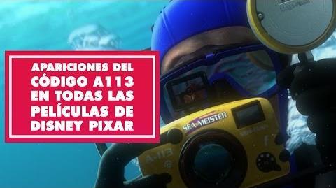 Apariciones del código A113 en todas las películas de Disney-Pixar Oh My Disney