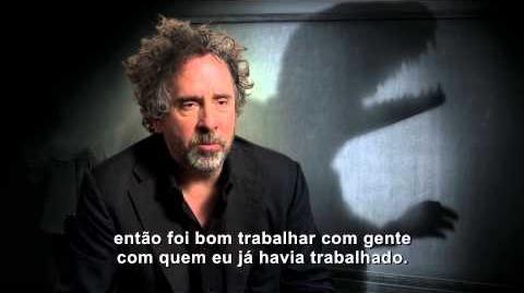 Frankenweenie Trabalhar com Tim Burton