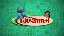 Lilo & Stitch The Series title card