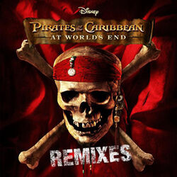 Pirates of the Caribbean At World's End Remixes (album) coverart