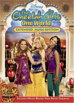 The Cheetah Girls One World DVD