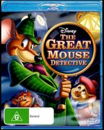The Great Mouse Detective 2012 AUS Blu Ray