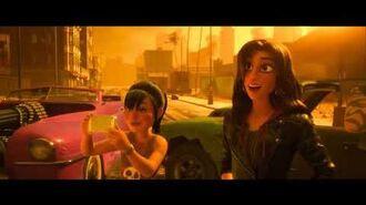 Wifi Ralph - Shank sube el video de Ralph a BuzzzTube Español Latino