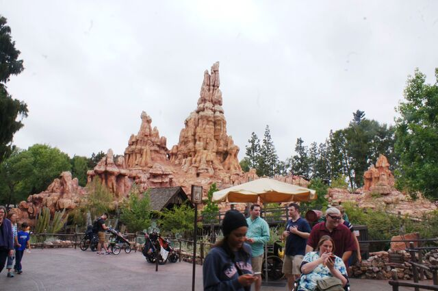 File:Big Thunder Mountain Railroad at Disneyland.jpg