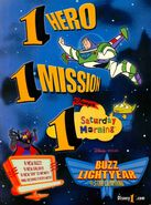 Buzz Lightyear Star Command print ad NickMag Nov 2000