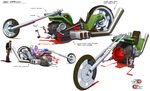 Mc120 3d mutt motorcycle v3 bc