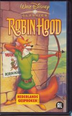 Robin Hood 2002 Dutch VHS