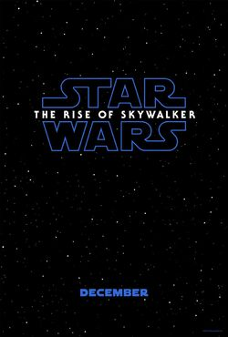 Star Wars - The Rise of Skywalker teaser poster