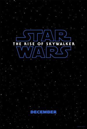 Star Wars - The Rise of Skywalker teaser poster
