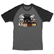 Star Wars The Force Awakens Tsum Tsum T Shirt