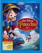 13. Pinocchio (1940) (Platinum Edition Blu-ray + DVD)