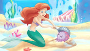 DP-DPRA-Ariel-Is-My-Babysitter-Ariel-Digging-Melvin-Out-Of-The-Sand
