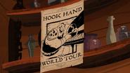 Hook Hand Tour Poster