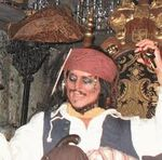 Jack Sparrow Disneyland Ride