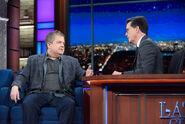 Patton Oswalt visits Stephen Colbert
