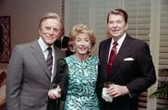 Ronald Reagan with Kirk Douglas-1-