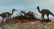 Velociraptorsscaredbycarnotaurus