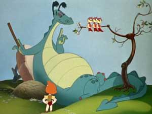 le dragon recalcitrant