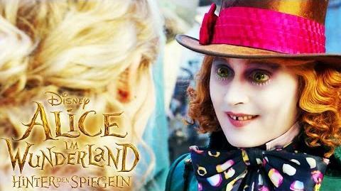 ALICE IM WUNDERLAND Hinter den Spiegeln - Der junge Hutmacher - Ab 26. Mai im Kino Disney HD