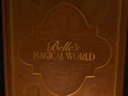 Belle's Magical World storybook closing