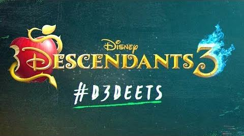 D3 Deet Who is Hades? 🔥💙 Descendants 3