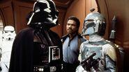 Darth Vader with Boba Fett