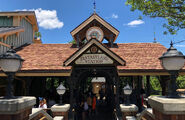 Fantasyland station Magic Kingdom