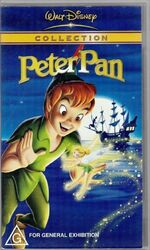 Peter Pan 2002 AUS VHS
